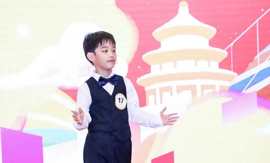 《潮平两岸阔,风正一帆悬|2年级的国际组冠军刘俊嘉》